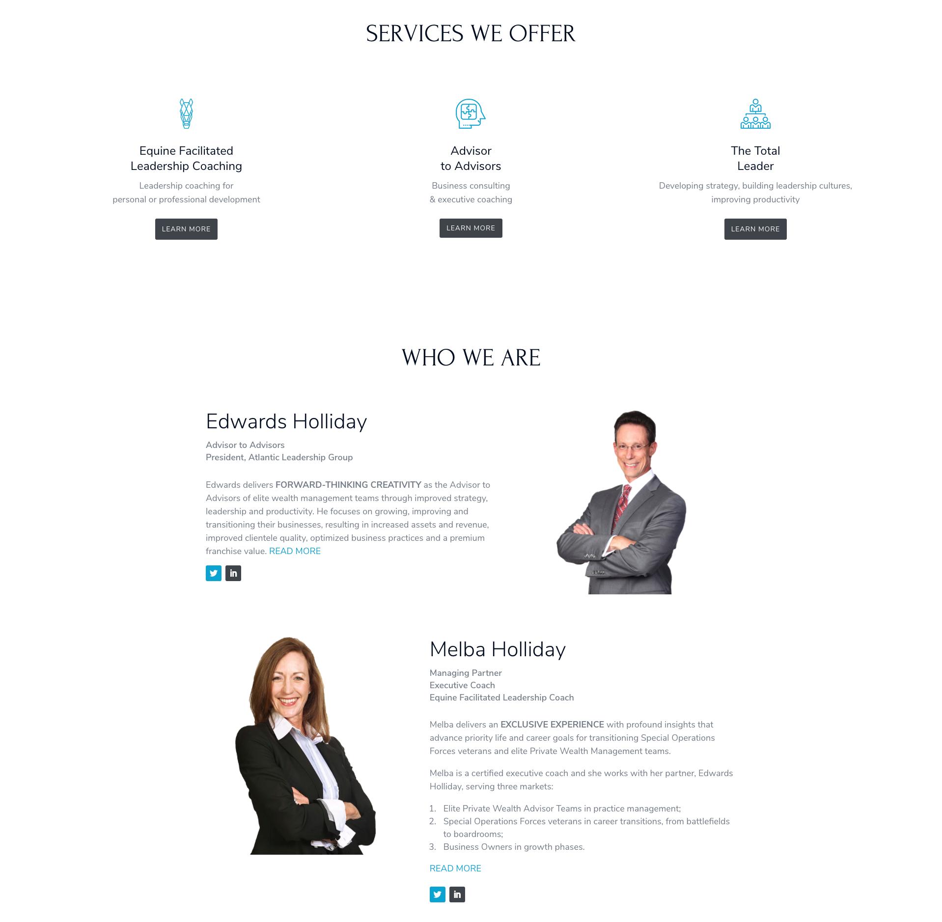 Atlantic Leadership Group Website