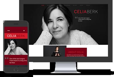 Celia Berk website