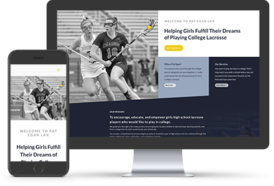 Pat Egan Lacrosse consulting website