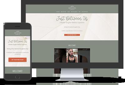 Sandy Richard Wellness website